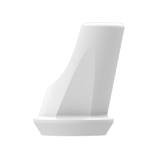 P6 Abutment - SN Abutment (incl. Screw) - 15' Angled, 1 mm