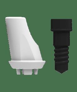ZERAMEX®XT Abutment RB Angular 15°, 1mm (incl. Screw)