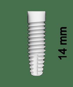 ZERAMEX®XT Implant Ø4.2x14mm RB (incl. Healing Cap)
