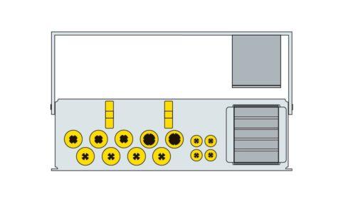 ZERAMEX® XT Prosthetics Kit, incl. Ratchet
