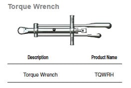 Hubermed Torque Wrench